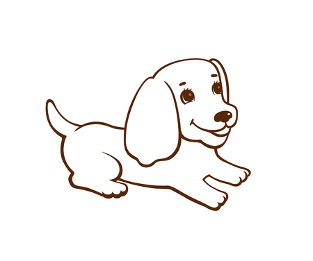 8 008 Line Drawing Dog Stock Vector Illustration And Royalty