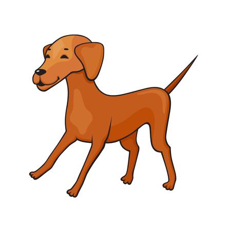 Little dog icon.