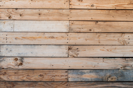 Texture background of wooden planks panel Stock Photo