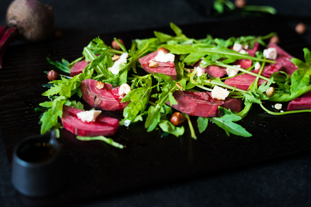cuke: Colourful beetroot salad makes a great little snack. And super healthy and tastes even better
