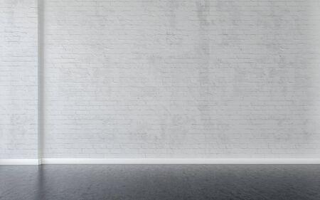 Empty room interior background. 3d rendering