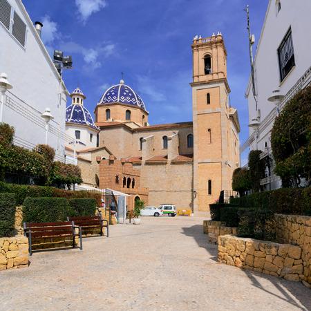 altea: The village Altea on the Costa Blanca, Alicante province,Spain