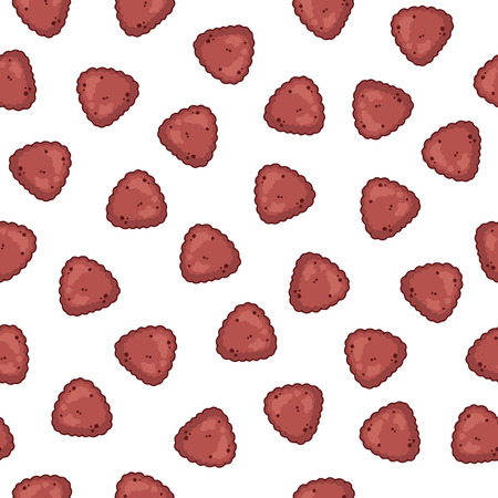 Dry pet food for dogs and cats. Vector seamless pattern. Vectores