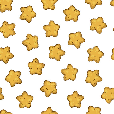 Pattern of vector illustrations on the nutrition theme dry food for cats and dogs. Realistic isolated objects for your design.