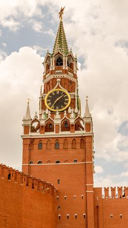 Clock tower at the Kremlin