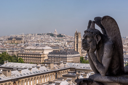 coeur: Gargolye and the Sacre Coeur