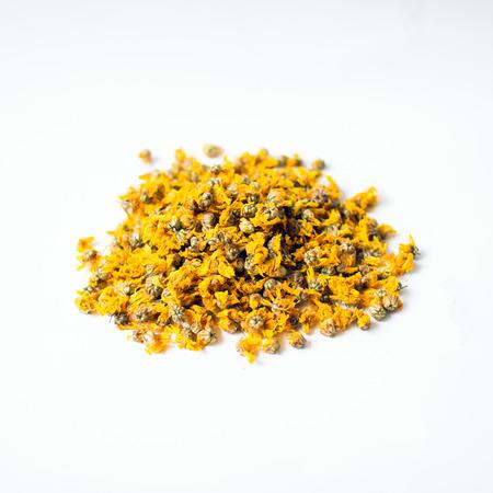 Dried chrysanthemum flowers for making tea