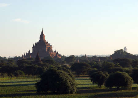 Bagan an ancient city located in the Mandalay Region of Myanmar photo