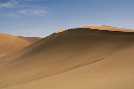 gobi: Sand dune in Gobi Desert China