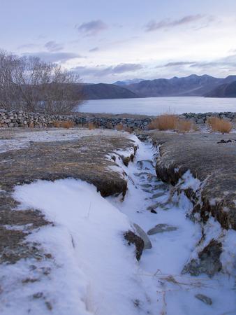 ladakh: Pangong Lake in the Himalayas, Ladakh, India