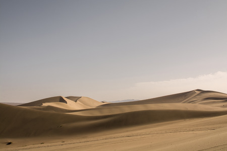 gobi: Sand dune in Gobi Desert, China