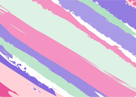 Opaque colors brush texture, abstract vector background illustration