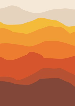 Abstract background orange shades, vector illustration
