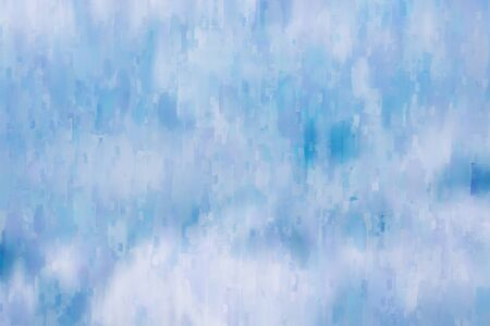 Digital abstract painting in blue tone for background, green background