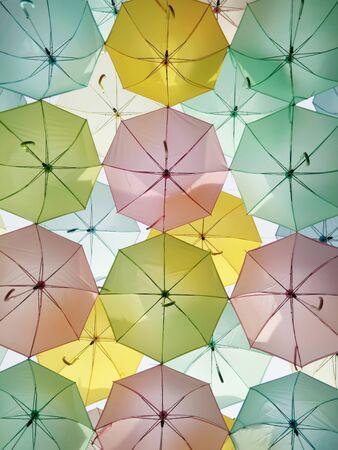 umbella: Colorful umbella.