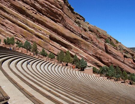 Red Rocks Amphitheater in Denver Colorado
