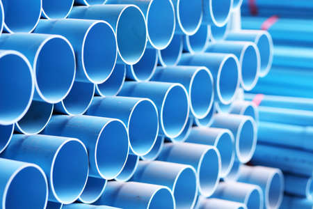 blue pipes are in stock