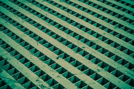aslant: pattern or background or texture of an old green rusty steel
