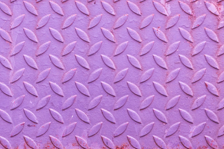 aslant: pattern or background or texture of an old pink rusty steel Stock Photo