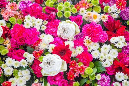Bouquets Blume, Bunte Hintergrund Bündel Blumen