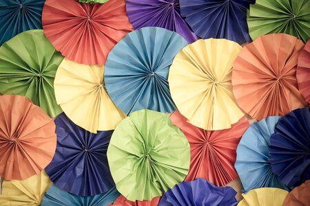 Carta da parati astratta arcobaleno carta incolore pattern di sfondo