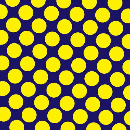 Yellow  dot diagonal pattern on a blue background