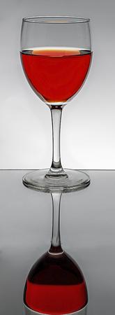 Red wine glass 写真素材