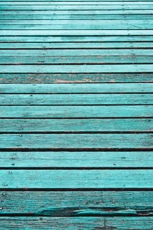 aquamarin: Textur alt blau Holz-Boards. Lizenzfreie Bilder