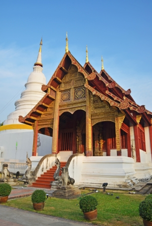 Wat Phra Singh in Chiang Mai, Thailand photo