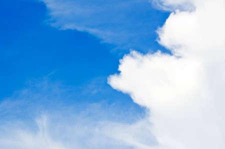 bluesky: Clouds and bluesky Stock Photo