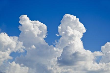 bluesky: Bluesky and Clouds Stock Photo