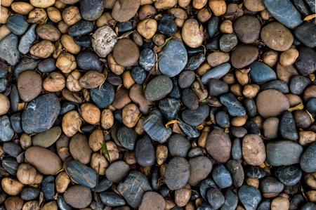 boulders: Pebbles, small boulders. Stock Photo