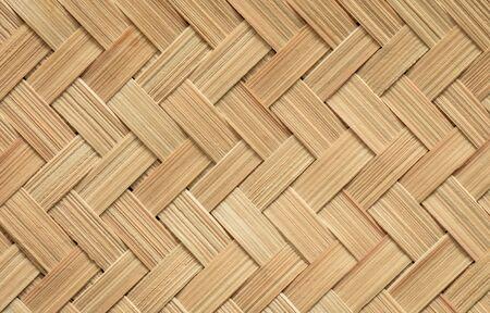 Bambusbeschaffenheit eines traditionellen fan.Wickerwork Bambusbeschaffenheitshintergrundes.