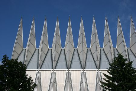 denominational: Air Force Academy Chapel, Colorado Springs, Colorado, USA