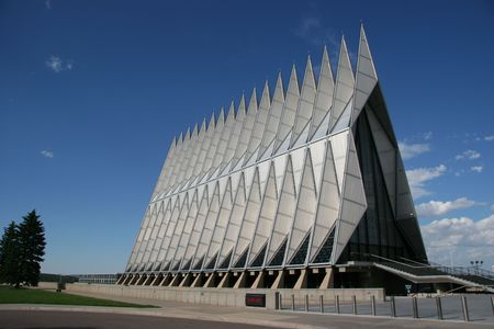 academy: Air Force Academy Chapel, Colorado Springs, Colorado, USA