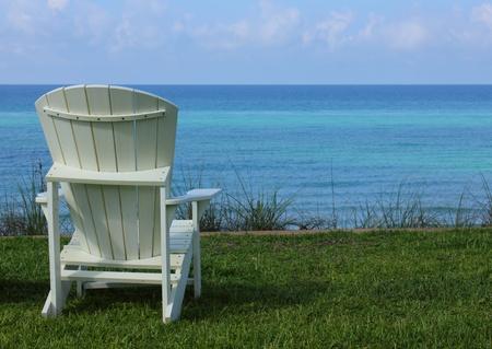 Beach Chair with Ocean View photo