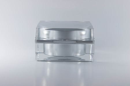 Beauty cream packaging containers. photo