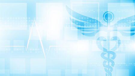 Médecine géométrique abstraite en forme de croix médicale et médecine de fond de concept scientifique, médecine, santé, croix, décoration de soins de santé pour flyers, affiche, web, bannière et illustration vectorielle de carte.