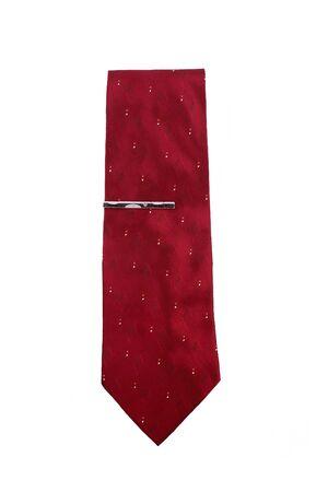 Red necktie Stock Photo