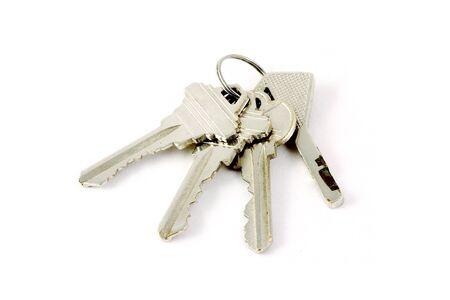 the isolated 4 keys Stock Photo