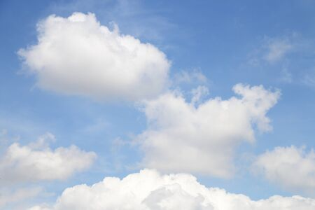 image of blue sky with cloud