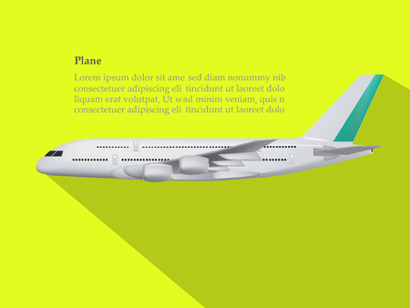 concept design of vector,concept design of plane,plane on the yellow background,model of plane,cute design of plane.