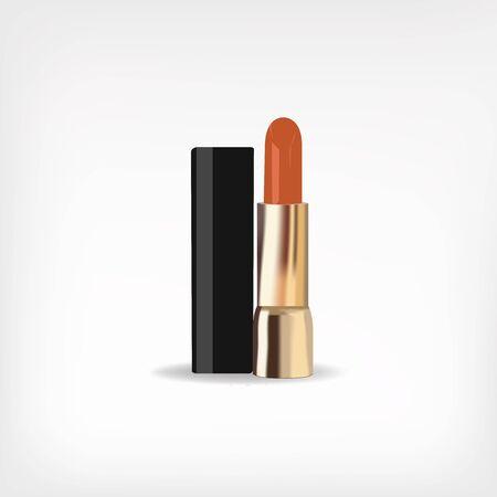 Realistic design of lipstick.