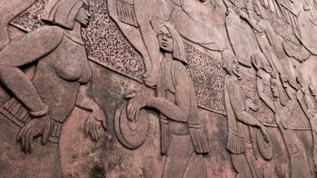horizental: Vietnamese culture wall