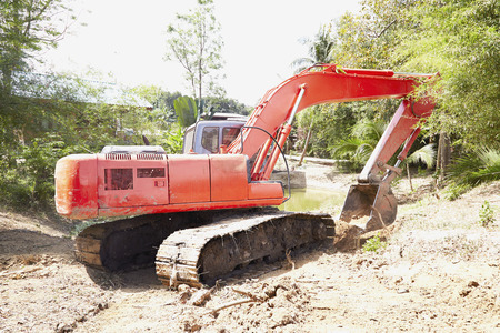 loader: Digging loader Stock Photo