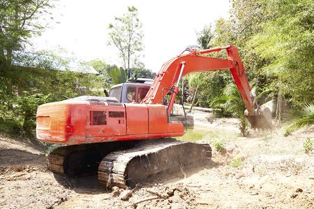 loader: Digging loader Stock Photo