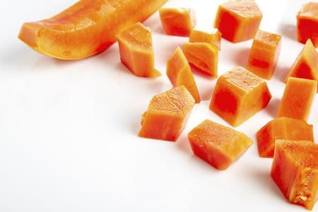 ripe: ripe papaya