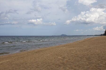 coastline: View of  Sea coastline