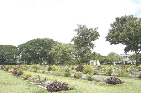 kanchanaburi: Kanchanaburi War Cemetery, Thailand