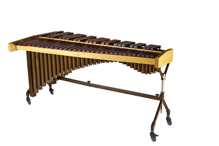 Classical  of a xylophone, isolated on white background Banque d'images